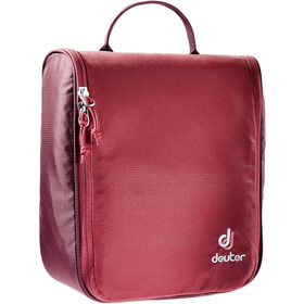 Deuter Wash Center II Bolsa Neceser Baño, cranberry-maron